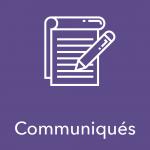 Communiqué – Consultation portant sur le budget d'établissement révisé
